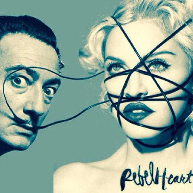 Salvador Dali z Madonną /