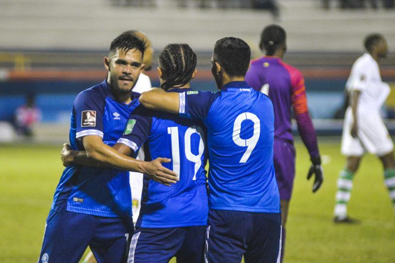 Salwador po strzeleniu gola w eliminacjach strefy CONCACAF /ZUMA/NEWSPIX.PL /Newspix