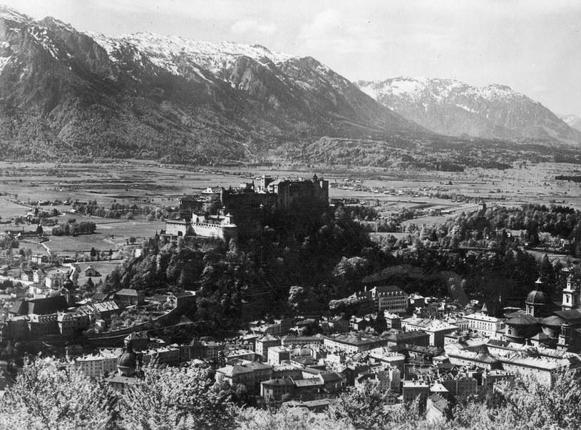 Salzburg po anszlusie (1938 r.) /Z archiwum Narodowego Archiwum Cyfrowego