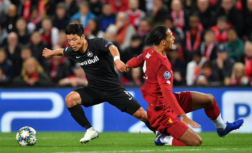 Salzburg strzelił w Liverpoolu aż trzy gole. Ale to nie wystarczyło /AFP
