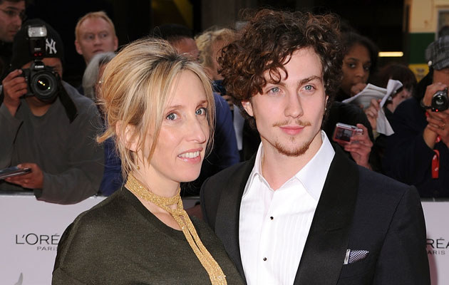 Sam Taylor-Wood i Aaron Johnson, fot. Gareth Cattermole   /Getty Images/Flash Press Media