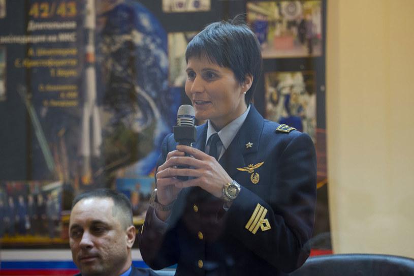 Samantha Cristoforetti, pierwsza wielbicielka zdrowej kuchni w kosmosie. /Getty Images