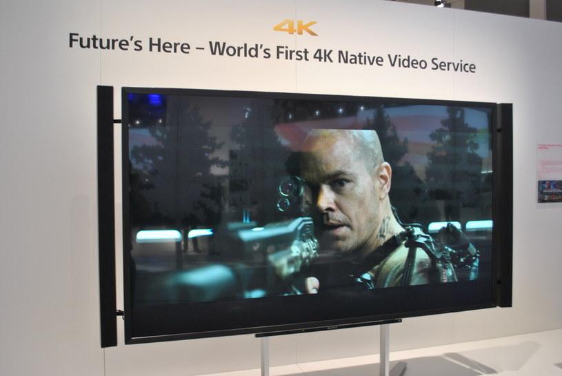 Same telewizory nie wystarczą - potrzeba jeszcze filmów. Sony wystartuje ze specjalnym serwisem z filmami 4K. Z czasem doczekamy się także relacji sportowych w 4K - pierwsze próby obserwowaliśmy rok temu, podczas olimpiady w Londynie /INTERIA.PL