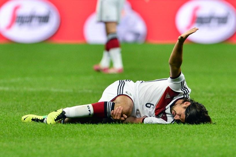 Sami Khedira doznał poważnej kontuzji /AFP