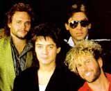 Sammy Hagar w czasach Van Halen /