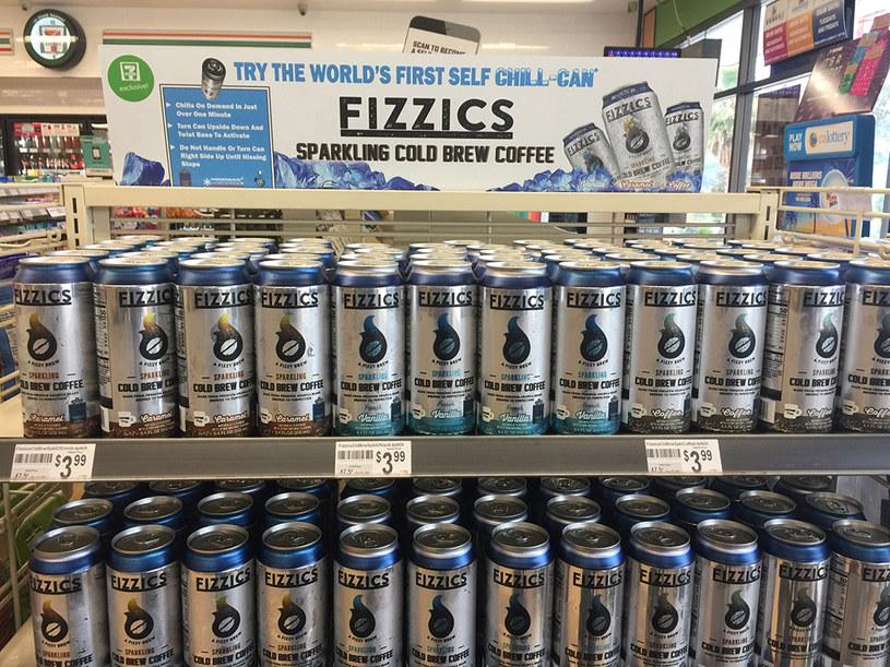 Samochłodzące się puszki z cold brewem już w sieci 7-Eleven /materiały prasowe