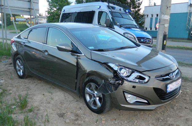 Samochód bardzo nie ucierpiał /RMF