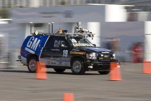 Samochód bez kierowcy to nie przyszłość. To teraźniejszość /AFP