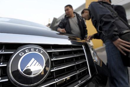 Samochód grupy Geely /AFP