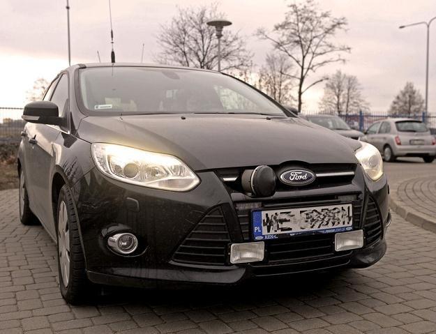Samochód ITD z nielegalnymi lampami błyskowymi / Fot: Jan Bielecki /East News