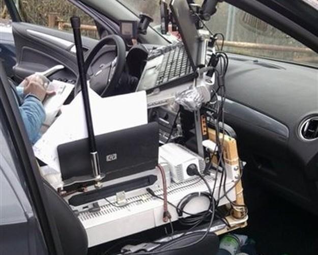 Samochód jak mobilne biuro... /