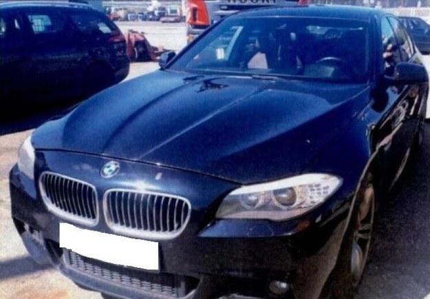 Samochód, który otrzymali funkcjonariusze CBŚP z Gdańska od pomorskiej Prokuratury Krajowej /Prokuratura Krajowa /Materiały prasowe