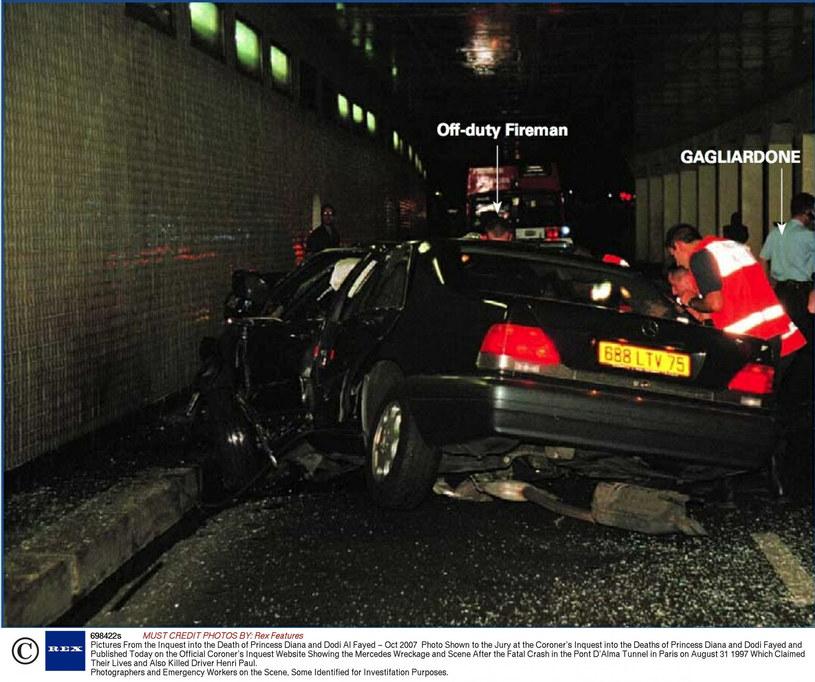 Samochód, którym jechała księżna /Rex Features /East News