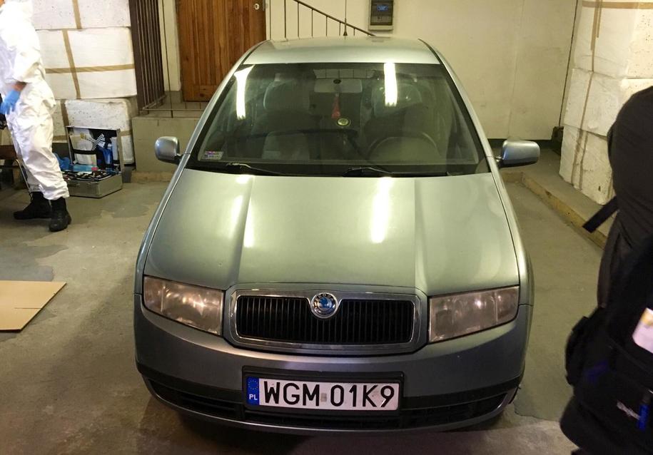 Samochód, którym poruszał się ojciec chłopca /Patryk Michalski /RMF FM