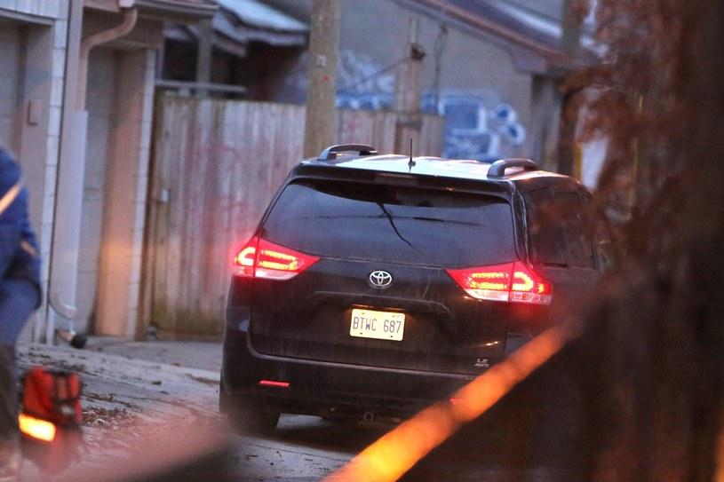 Samochód, którym przyjechał książę Harry /East News