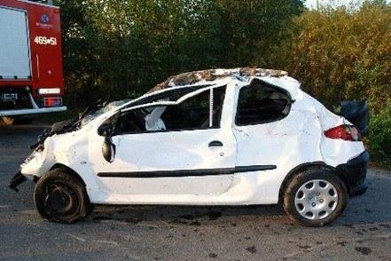 Samochód miał tylko 2 miejsca /Policja