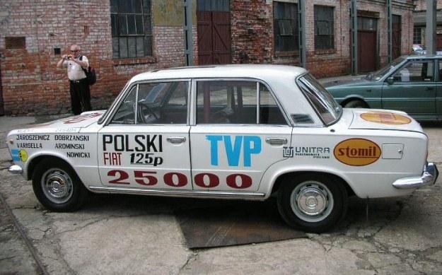 Samochód, na którym bito rekord prędkości /INTERIA.PL