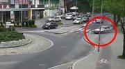 Samochód nagle stracił hamulce...