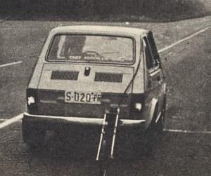Samochód podczas kończących test pomiarów przy przebiegu 50 000 km. /Motor