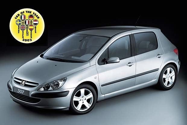 Samochód Roku 2002 - Peugeot 307 (kliknij) /INTERIA.PL