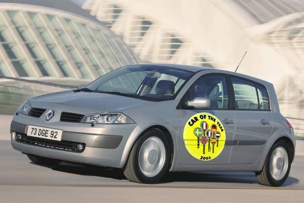 Samochód Roku 2003 - Renault Megane II (kliknij) /INTERIA.PL