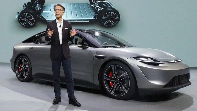 Samochód Sony to nie atrapa. Trafi do sprzedaży. Zobacz, jak jeździ [WIDEO] /Geekweek