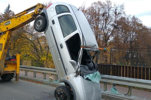 Samochód tuż po wypadku /Policja /