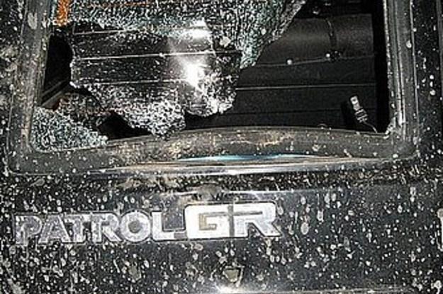 Samochód, w którym doszło do wypadku /Policja