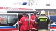 Samochód wpadł do potoku: 1 osoba nie żyje