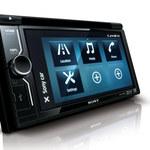 Samochodowy zestaw AV Sony XAV-602BT i moduł GPS XA-NV300T z nawigacją TomTom