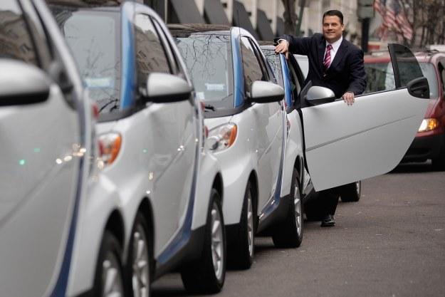 Samochody car2go /AFP