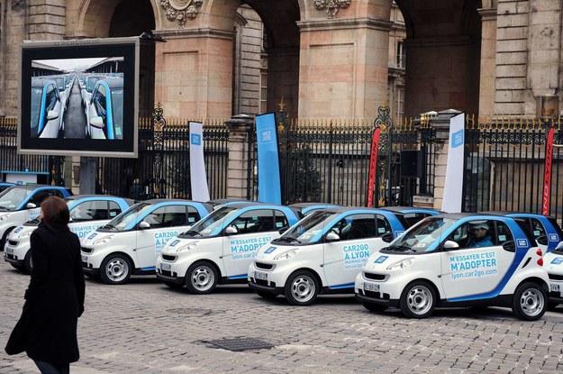 Samochody do wypożyczenia we Francji /AFP