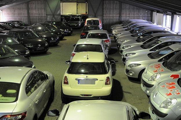 Samochody przeznaczone na licytację / Fot: Wojciech Stróżyk /Reporter