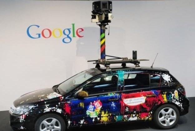 Samochody używane do zbierania materiałów Google Street View /INTERIA.PL