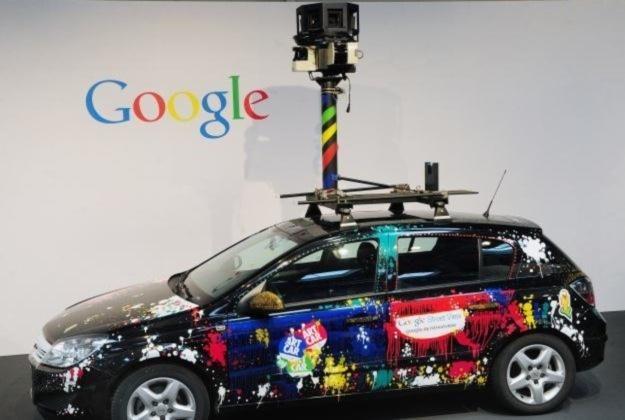 Samochody wykorzystywane do zbierania zdjęć do Street View /AFP