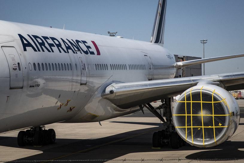 Samolot Air France; zdj. ilustracyjne /AFP