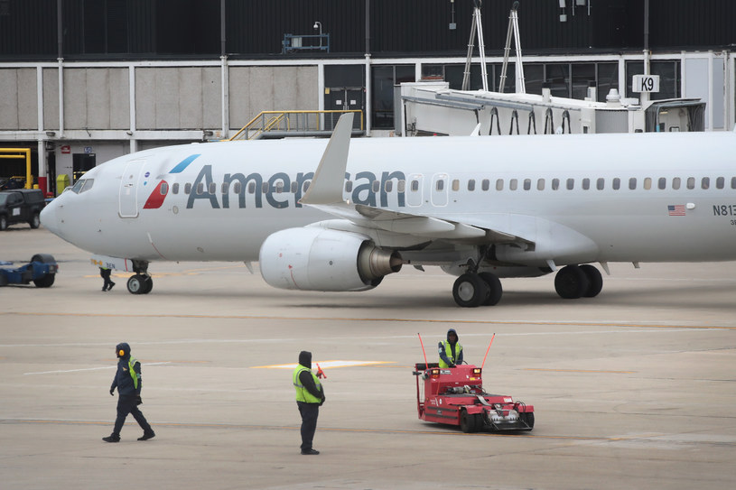 Samolot American Airlines /SCOTT OLSON / GETTY IMAGES NORTH AMERICA / AFP /AFP