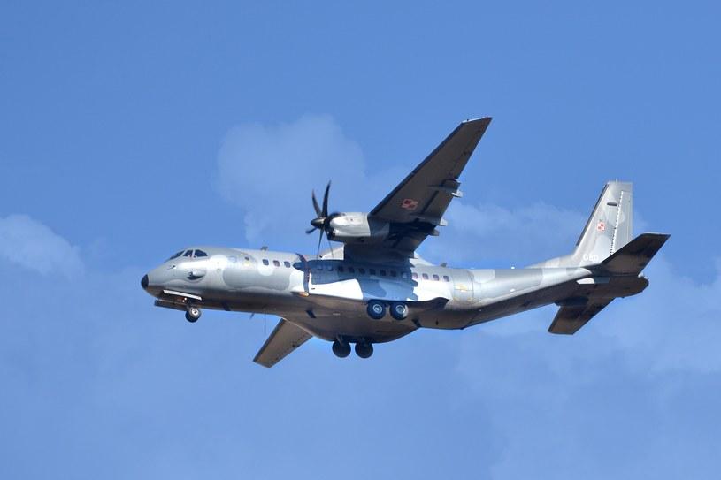 Samolot CASA; zdj. ilustracyjne /Przemysław Fiszer /East News