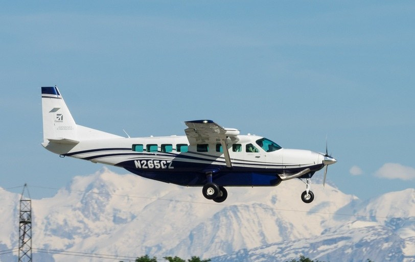 Samolot Cessna Caravan; zdj. ilustracyjne /Flickr/Markus Eigenheer /Archiwum