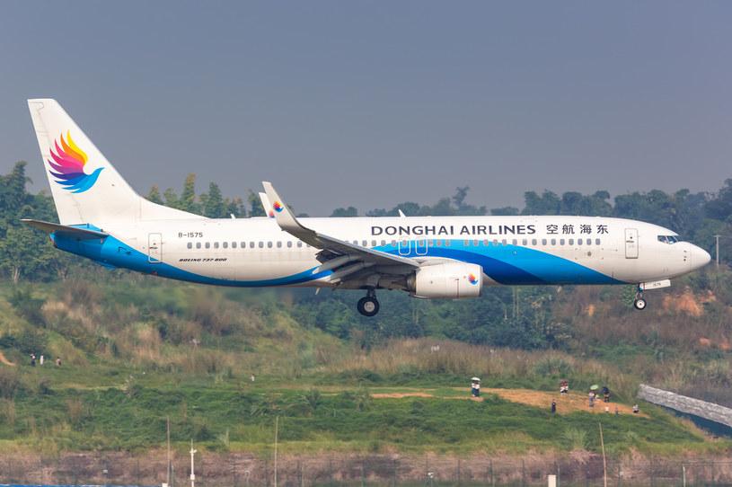 Samolot chińskich linii Donghai Airlines. /123RF/PICSEL