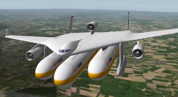 Samolot Clip-Air    Fot. EPFL/TRANSP-OR/LIV/ICOM /materiały prasowe