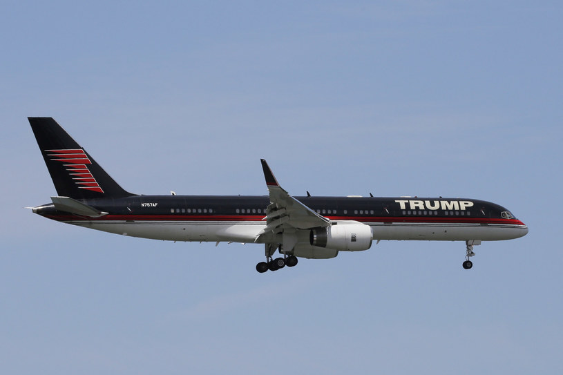 Samolot Donalda Trumpa do Boeing 757 /AFP