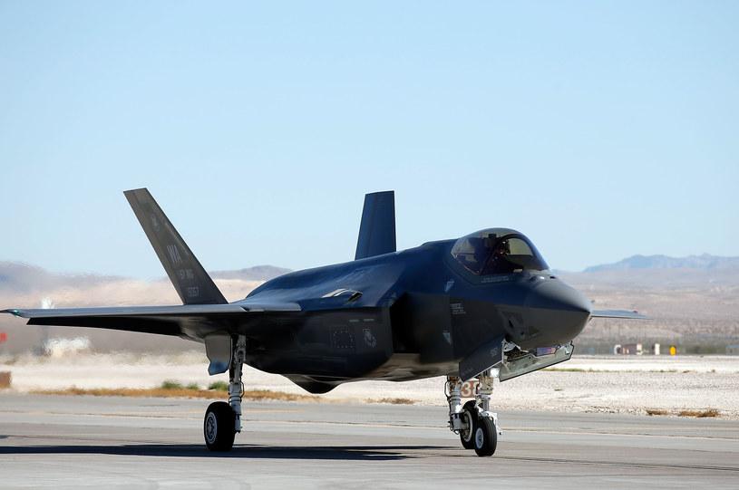 Samolot F-35; zdj. ilustracyjne /Isaac Brekken /AFP