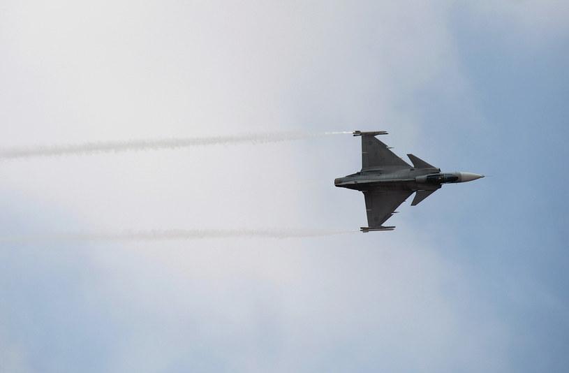 Samolot Gripen (zdjęcie ilustracyjne) /MANJUNATH KIRAN/ /AFP