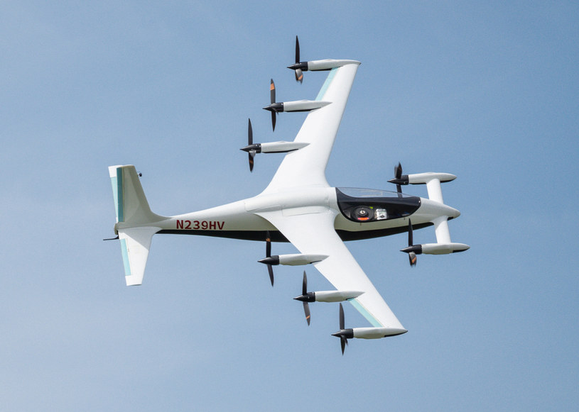 Samolot Heavyside /materiały prasowe