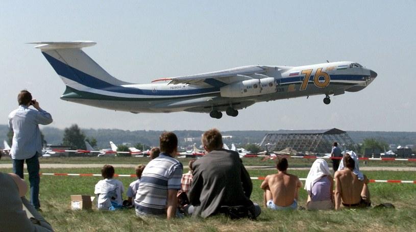 Samolot Ił-76 /SERGEI CHIRIKOV /PAP/EPA
