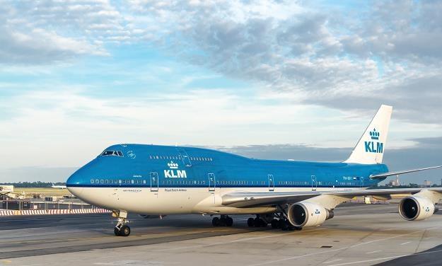 Samolot KLM na lotnisku JFK w Nowym Jorku /©123RF/PICSEL