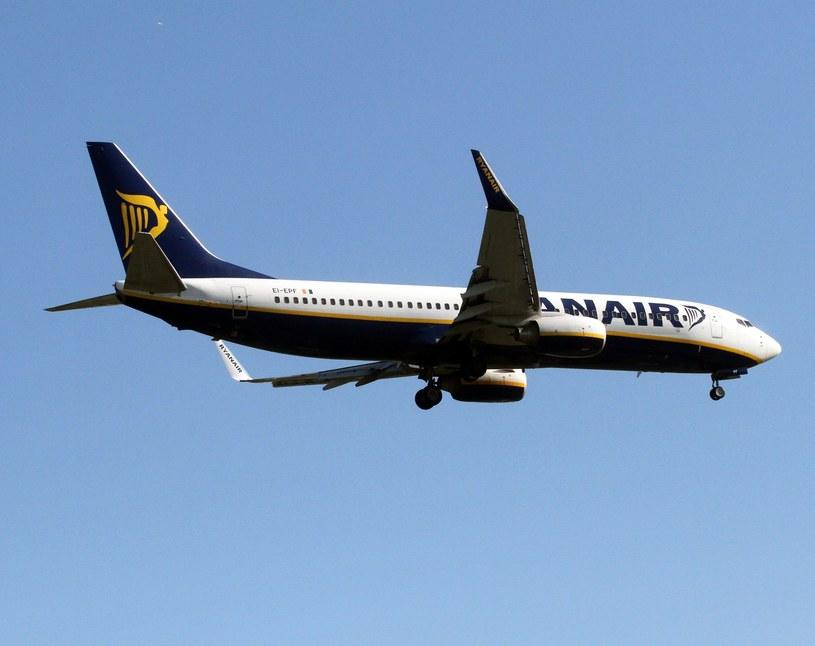 Samolot lądował na niemieckim lotnisku z powodu niebezpiecznych burz nad Wrocławiem. /Artur Barbarowski /East News