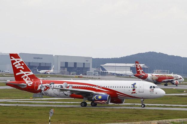 Samolot linii AirAsia /FAZRY ISMAIL /PAP/EPA