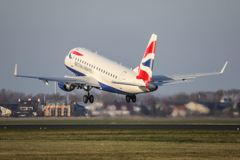 Samolot linii British Airways /Michal Adamowski /Reporter
